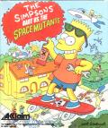 The Simpsons: Bart vs. the Space Mutants Amiga Front Cover