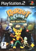 Ratchet & Clank: Size Matters PlayStation 2 Front Cover