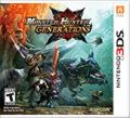 Monster Hunter: Generations Nintendo 3DS Front Cover
