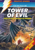 Tower of Evil ZX Spectrum Front Cover