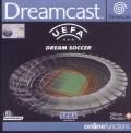 UEFA Dream Soccer  Dreamcast Front Cover