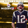 Madden NFL 18 (G.O.A.T. Edition) PlayStation 4 Front Cover