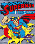 Superman: The Man of Steel ZX Spectrum Front Cover