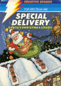 Special Delivery: Santa's Christmas Chaos ZX Spectrum Front Cover