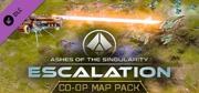 Ashes of the Singularity: Escalation - Co-Op Map Pack Windows Front Cover