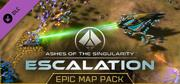Ashes of the Singularity: Escalation - Epic Map Pack Windows Front Cover