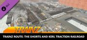 Trainz: Trainz Route The Shorts and Kerl Traction Railroad Macintosh Front Cover