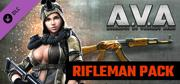 A.V.A.: Alliance of Valiant Arms - Rifleman Pack Windows Front Cover