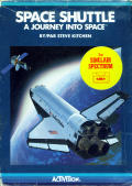 Space Shuttle: A Journey into Space ZX Spectrum Front Cover box