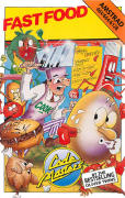 Fast Food Amstrad CPC Front Cover