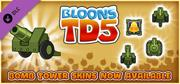 Bloons TD 5: Military Bomb Tower Skin Macintosh Front Cover