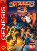 Streets of Rage 3 Genesis Front Cover