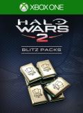 Halo Wars 2: 9 Blitz Packs + 1 Free Xbox One Front Cover 1st version