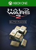 Halo Wars 2: 20 Blitz Packs + 3 Free Xbox One Front Cover 1st version