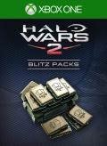 Halo Wars 2: 40 Blitz Packs + 7 Free Xbox One Front Cover 1st version