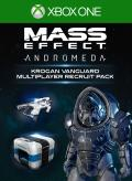 Mass Effect: Andromeda - Krogan Vanguard Multiplayer Recruit Pack Xbox One Front Cover 1st version