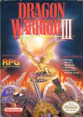 Dragon Warrior III NES Front Cover