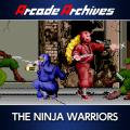 The Ninja Warriors PlayStation 4 Front Cover