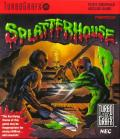 Splatterhouse TurboGrafx-16 Front Cover