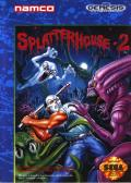 Splatterhouse 2 Genesis Front Cover