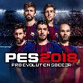 PES 2018: Pro Evolution Soccer PlayStation 4 Front Cover