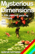 Mysterious Dimensions ZX Spectrum Front Cover