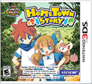 Hometown Story Nintendo 3DS Front Cover