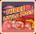 Tales to Enjoy! Three Little Pigs Nintendo 3DS Front Cover