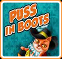 Tales to Enjoy! Puss In Boots Nintendo 3DS Front Cover