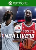 NBA Live 18 Xbox One Front Cover 1st version