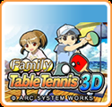 Family Table Tennis 3D Nintendo 3DS Front Cover