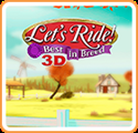 Let's Ride: Best in Breed 3D Nintendo 3DS Front Cover