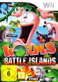 Worms: Battle Islands Wii Front Cover