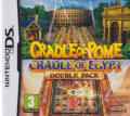 Cradle of Rome / Cradle of Egypt: Double Pack Nintendo DS Front Cover