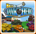 Brave Tank Hero Nintendo 3DS Front Cover