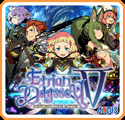 Etrian Odyssey V: Beyond the Myth Nintendo 3DS Front Cover 1st version