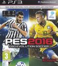 PES 2016: Pro Evolution Soccer (Day One Edition) PlayStation 3 Front Cover
