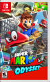 Super Mario Odyssey Nintendo Switch Front Cover