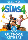 The Sims 4: Outdoor Retreat Macintosh Front Cover
