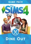 The Sims 4: Dine Out Macintosh Front Cover
