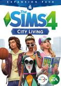 The Sims 4: City Living Macintosh Front Cover