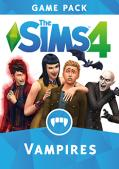 The Sims 4: Vampires Macintosh Front Cover