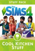 The Sims 4: Cool Kitchen Stuff Macintosh Front Cover