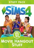 The Sims 4: Movie Hangout Stuff Macintosh Front Cover