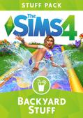 The Sims 4: Backyard Stuff Macintosh Front Cover