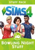 The Sims 4: Bowling Night Stuff Macintosh Front Cover
