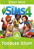 The Sims 4: Toddler Stuff Macintosh Front Cover