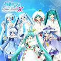 Hatsune Miku: Project DIVA X - Snow Miku 2010-2015 Pack PlayStation 4 Front Cover