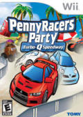 Penny Racers Party: Turbo-Q Speedway Wii Front Cover