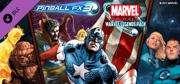 Pinball FX3: Marvel Pinball  Marvel Legends Pack Windows Front Cover